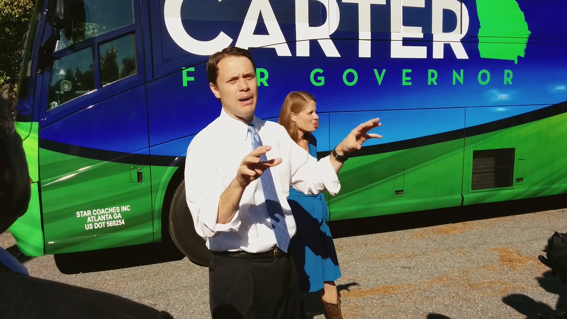 RECAP: Sen. Jason Carter stops by Columbus one last time!